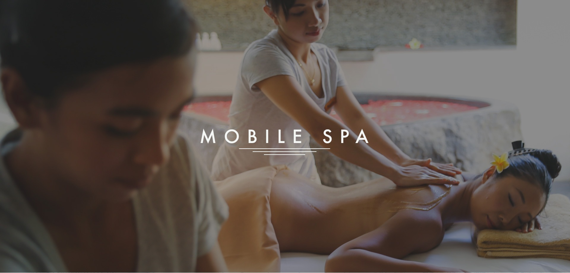 Pedicures massage and a salon at your convenience for A creative touch beauty salon