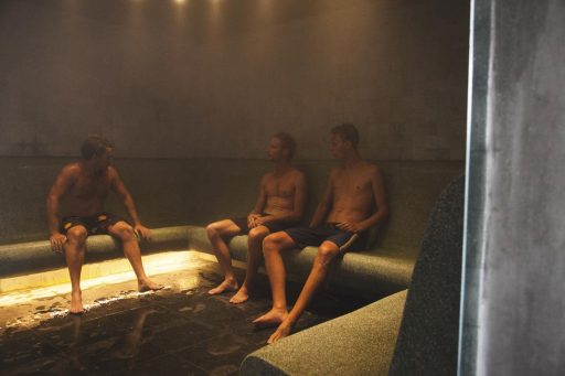 Jump in the sauna, relax and enjoy a range of health benefits