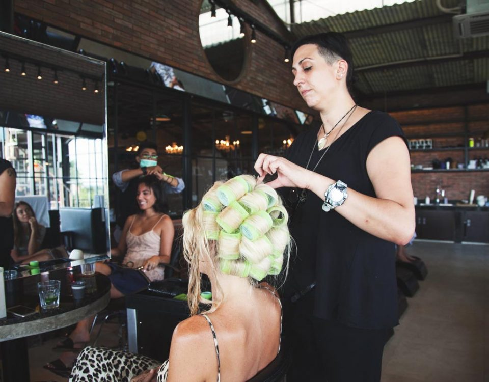 AMO stylists ensure you'll have perfect wedding hair